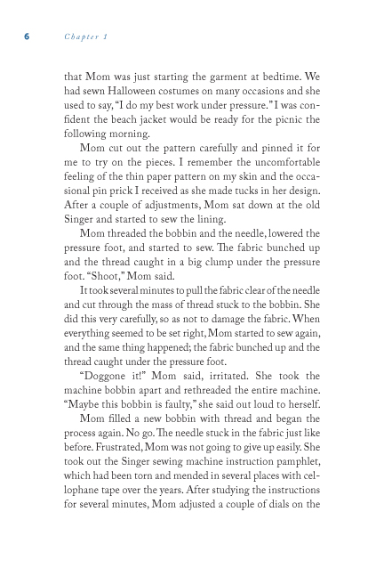 Potluck sample page18